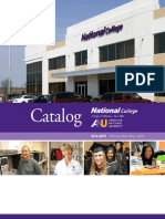 National College Catalog