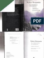 Libro Walter Benjamin, La Dialectica en Suspenso. Fragmentos Sobre La Historia. (1)