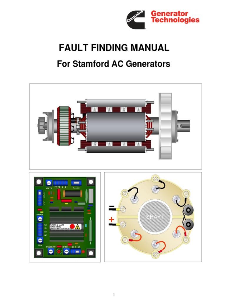 Stamford Generator Wiring Manual | Repair Manual