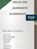 1.2 Escuelas Del Pensamiento Económico