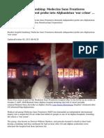 Kunduz hospital bombing