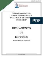 Reglamento Geia Xxx Presencial - Semipresencial