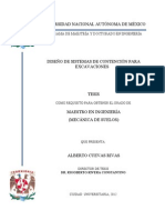 DISEÑO DE SISTEMAS DE CONTENCION PARA EXCAVACIONES