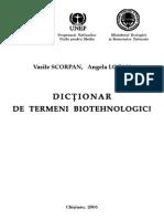 Dictionar de Termeni Biotehnologici