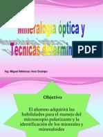 I.- Principios de Mineralogia