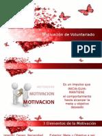Motivación de Voluntariado