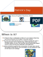 Learning English St Patrick'sDay