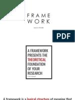 Framework Report