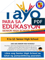 Senior High School Voucher