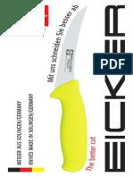 Katalog - Eicker Messer