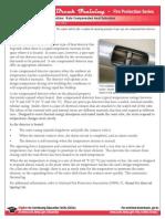 How Rate Compensate Heat Detectors Works