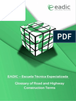 Glossary of Road and Highway Construction Terms
