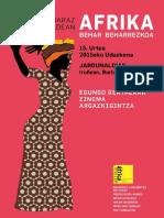 África Programa 2015 Euskera