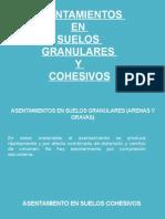 Asentamientos en Suelos Granulares y Cohesivos (1)