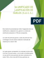 Sistema Unificado de Clasificación de Suelos (S.U.C.S.)