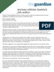 Holocaust Historians Criticise Austria's Jailing of Jewish Author _ World News _ the Guardian
