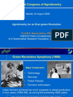 World Agroforestry Congress, 24 August 2009