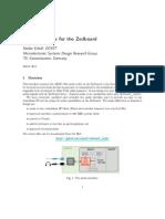 Zedboard Audio Doc