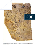 The Image of the Piri Re'is Map With a Translation