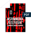 Gronczewski, Edward - Wspomnienia »Przepiórki« - 1964 (Zorg)