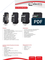 CBI QA(13) - Series Circuit Breakers Data Sheet