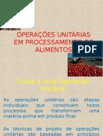 Aula Sobre Operacoes Unitarias