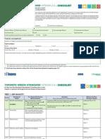 TGS LowRise Checklist
