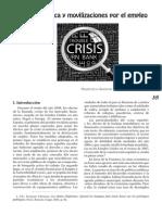 Crisis económica y movilizaciones por el empleo