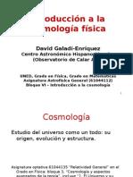 Introducción a la cosmología física