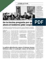 151005 La Verdad CG- De La Encina Pregunta Por Qué Ahora El Gobierno Pide Cooperar p.6