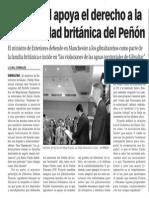 151005 La Verdad CG- Hammond Apoya El Derecho a La Nacionalidad Británica Del Peñón p.7