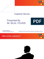 Customer Service Presentation