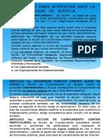 MECANISMOS PARA INTERVENIR EN LA ADMINISTRACION   DE   JUSTICIA (1).pptx