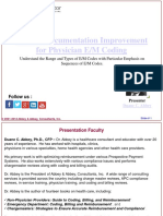 Clinical Documentation Improvement for Physician E/M Coding