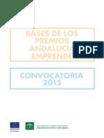 Bases Premios Andalucia Emprende 2015
