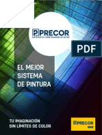 Brochure de Carta de Color Precor 2