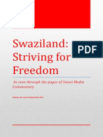 Swaziland Striving for Freedom, Vol 19, June to September 2015