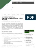 Guia Completo Para Integração Do Protheus Com o IReport