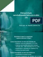 Echilibrul Hidroelectrolitic