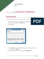a3erp Demo Manual Instalacion