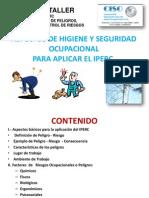 1 Peligros y Riesgos Ocupacionales (Iperc)
