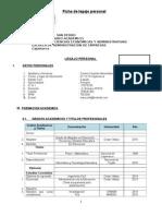 Ficha de Legajo Administracion de Empresas