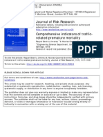 Comprehensive indicators of traffic-related premature mortality