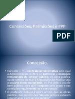 Concessões, Permissões e PPP