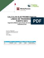 Calculo electromecánico de subestacion