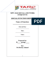 SWE Report Sample