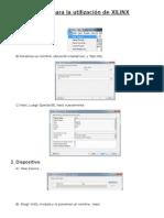 Pasos XILINX + Imagenes