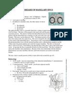 Diseases of Maxillary Sinus