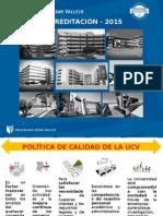 Presentación Proceso de Acreditación - Estudiantes 2015 -I V1