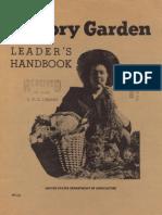 Victory Garden Leader's Handbook